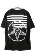 BLACK SCALE HATE LOVE QS T-SHIRT BLACK