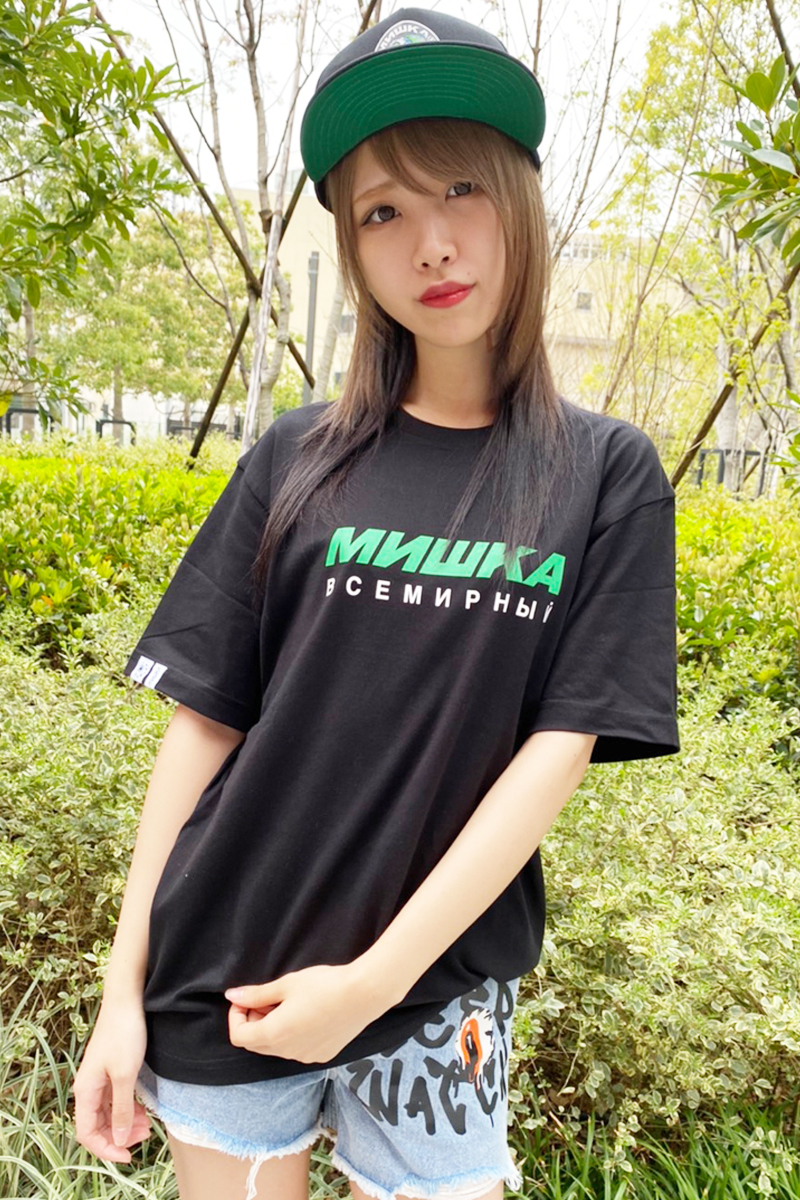 MISHKA(ミシカ) MSS200069  T-SHIRTS BLACK