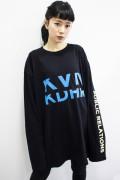工藤晴香×ゲキクロ×KAVANE Clothingコラボ 限定ロンT Black/Blue