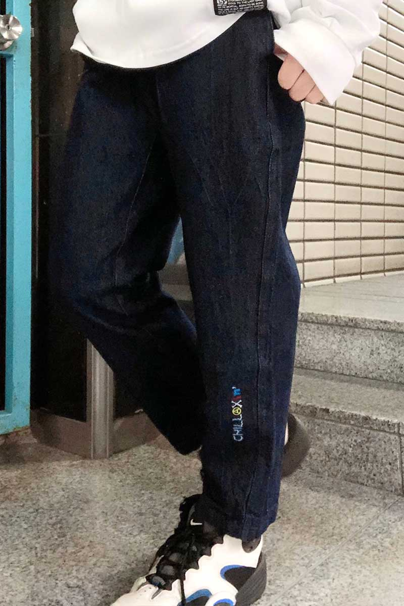 SABBAT13 CHILLAXING EASY PANTS (ブルー)