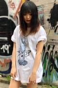 SAMURAI CORE 釈迦 TEE WHITE