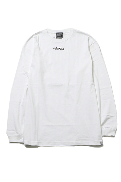 SILLENT FROM ME STIGMA -Long Sleeve- WHITE