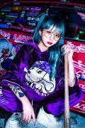 GALFY (ガルフィー) カラーギャング TPK 紫ギャン