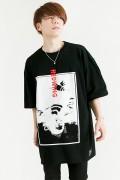 【予約商品】HEDWiNG Crazy-Monna-Crazy T-shirt Black