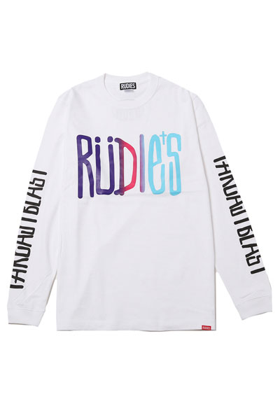 RUDIE'S DRAWING LS-T WHITE