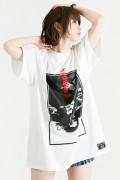 【予約商品】HEDWiNG Crazy-Monna-Crazy T-shirt White