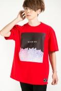 【予約商品】HEDWiNG Stardust T-shirt Red