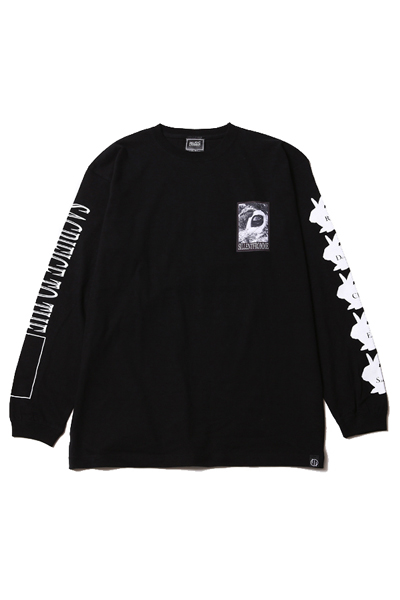 SILLENT FROM ME SACRIFICE -Long Sleeve- BLACK