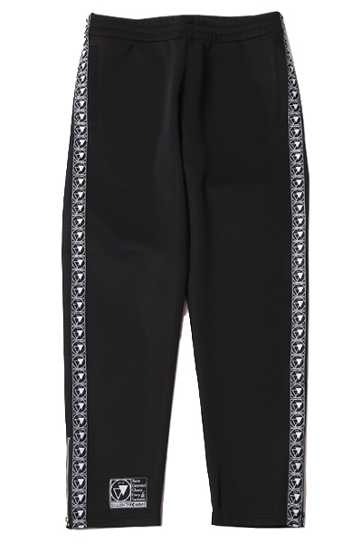 SILLENT FROM ME CLIQUE -Track Pants- Black