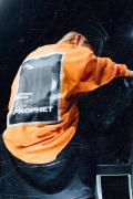 Survive Said The Prophet  BITMAP L/S TEE ORANGE