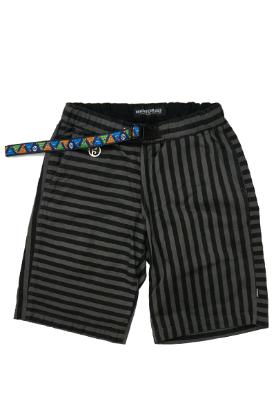 ROLLING CRADLE CHAMBER BORDER SHORTS / Black