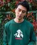 【予約商品】NARUTO-ナルト- 疾風伝 ×Subciety JIRAIYA L/S GREEN