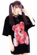 TRAVAS TOKYO Furry bear BIG Tee【Red】