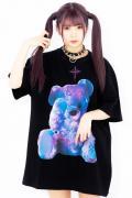TRAVAS TOKYO Furry bear BIG Tee【Multi】