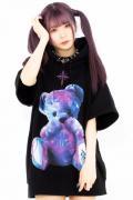 TRAVAS TOKYO Furry bear H/S hoodie【Multi】
