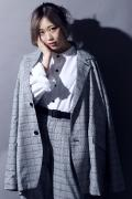 SILLENT FROM ME LAWYER -Oversized Tailored Jacket- GRAY CHECK