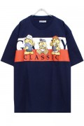 GALFY 181070 ワッペンTシャツ NAVY