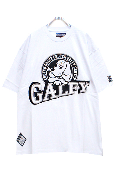 GALFY 182019 90's Sports galfy Tee White x Black