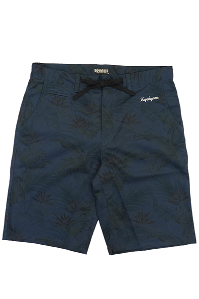 Zephyren(ゼファレン) BOTANICAL SHORTS NAVY