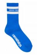 MUSIC SAVED MY LIFE (MSML) M1K1T-AC01 LINE SOX BLUE