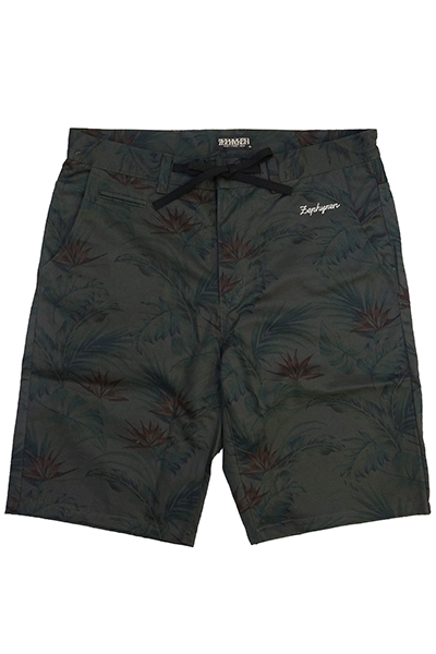 Zephyren(ゼファレン) BOTANICAL SHORTS BLACK