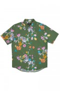 RIPNDIP Blooming Nerm Button Up (Olive Green)