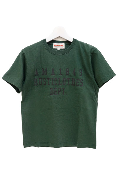 ANIMALIA AN17S-TE05 RUSTICLOTHES DEPT. olive