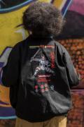 PUNK DRUNKERS [PDSxTEKKEN]吉光JKT - BLACK