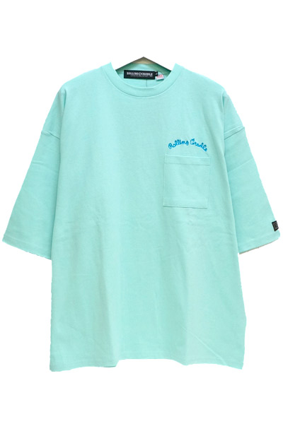 ROLLING CRADLE RC HEAVY COTTON BIG POCKET TEE MINT