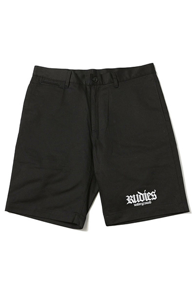 RUDIE'S HOOK WORK SHORTS BLACK