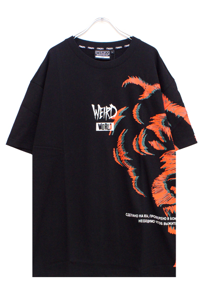 MISHKA MSS190074 T-SHIRT BLACK