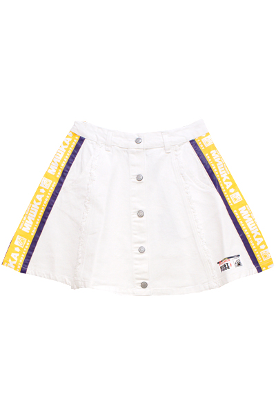 MISHKA MSS191034W SKIRT WHITE