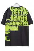 MISHKA MSS190023 T-SHIRT BLACK