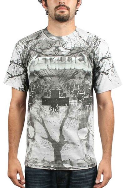 METALLICA Puppet Strings All Over T-Shirt