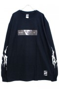 RIP DESIGN WORXX SECRET SMILE L/S T-SHIRT BLACK