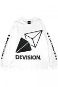 """DI:VISION """"CANDY"""" L/S TEE WHT"""