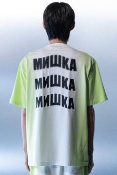 MISHKA(ミシカ) M21000067 T-Shirt GREEN