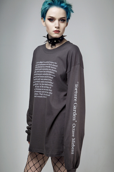 DISTURBIA CLOTHING Torture Garden Long Sleeve Tee
