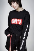DISTURBIA CLOTHING ANTI LONG SLEEVE