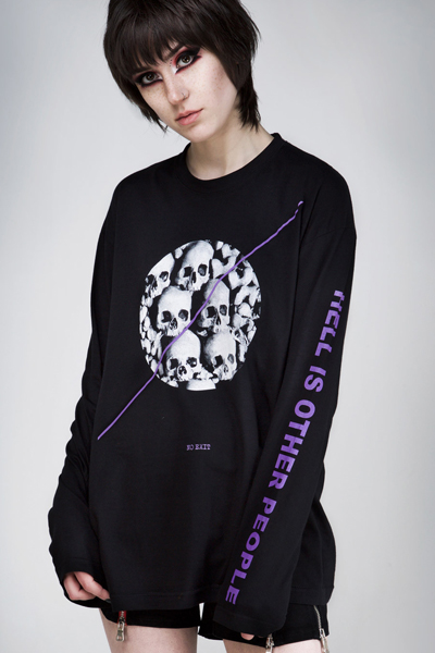DISTURBIA CLOTHING NO EXIT LONG SLEEVE