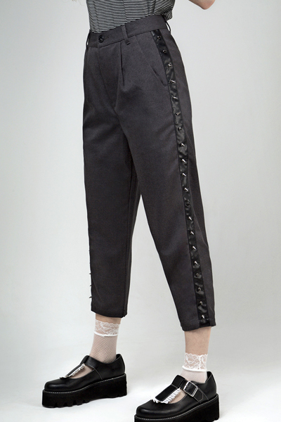 DISTURBIA CLOTHING Peggy Stud Trousers