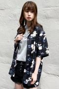 WASTED PARIS Shirt Mazzy Black