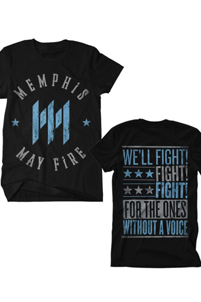 MEMPHIS MAY FIRE Battleground Black