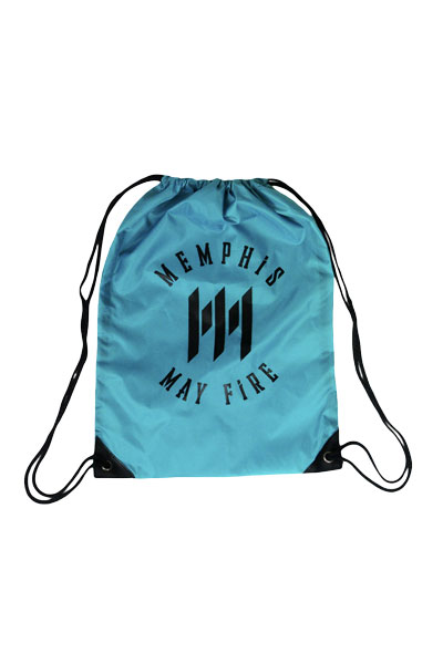 MEMPHIS MAY FIRE M Logo Blue - Cinch Bag