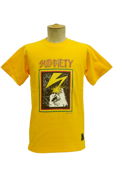 Subciety BREAK DOWN WALLS S/S YELLOW