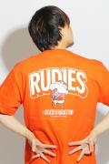 【予約商品】RUDIE'S x CRAYON SHINCHAN MICROPHONE-T ORANGE