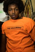 TOY MACHINE TMS18ST8 Toy Machine Logo ss S.ORANGE