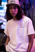 TOY MACHINE TMS18ST14 POCKET TEE WHITE