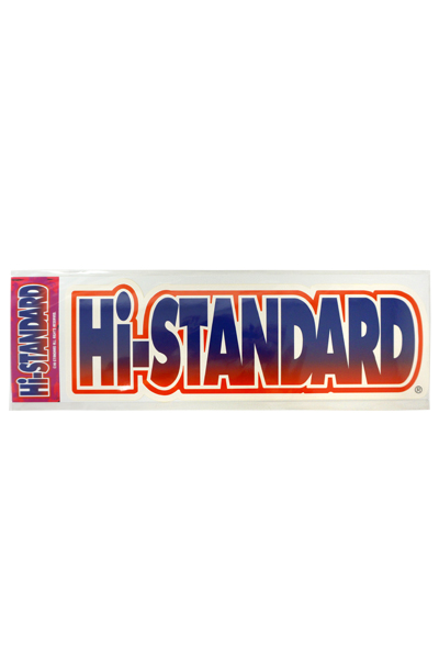 Hi-STANDARD HS BIG STICKER 02