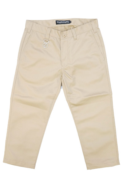 ROLLING CRADLE CROPPED PANTS / Beige